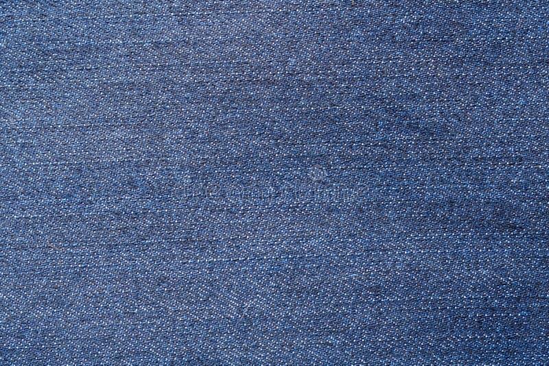 蓝色牛仔裤纺织品 免版税库存图片