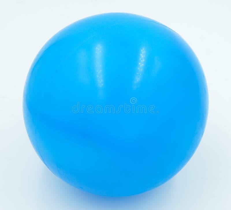 蓝色球 免版税库存照片