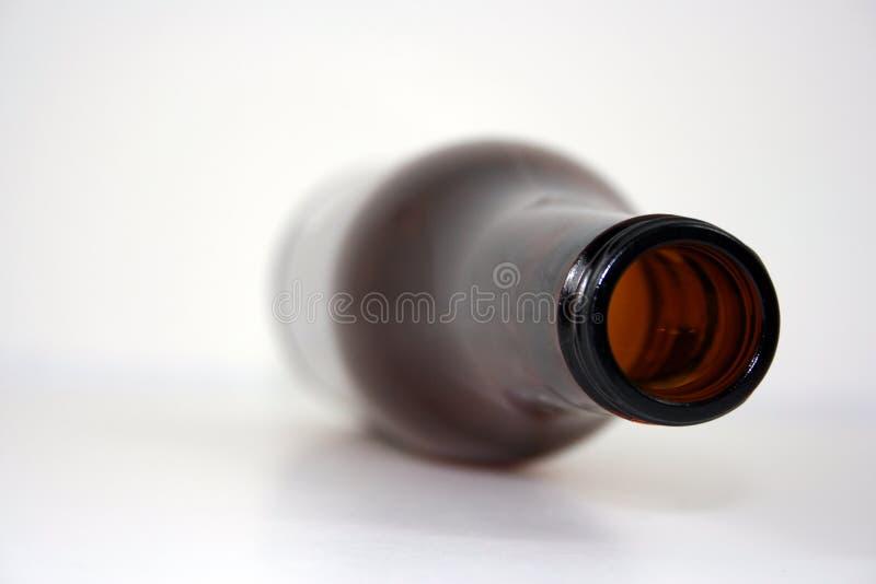 蓝色瓶褐色 免版税图库摄影