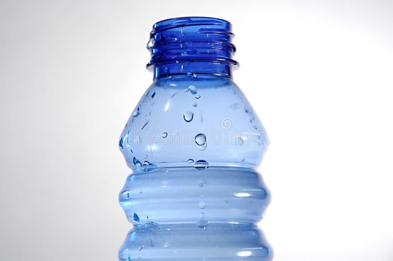 蓝色瓶ii 库存图片