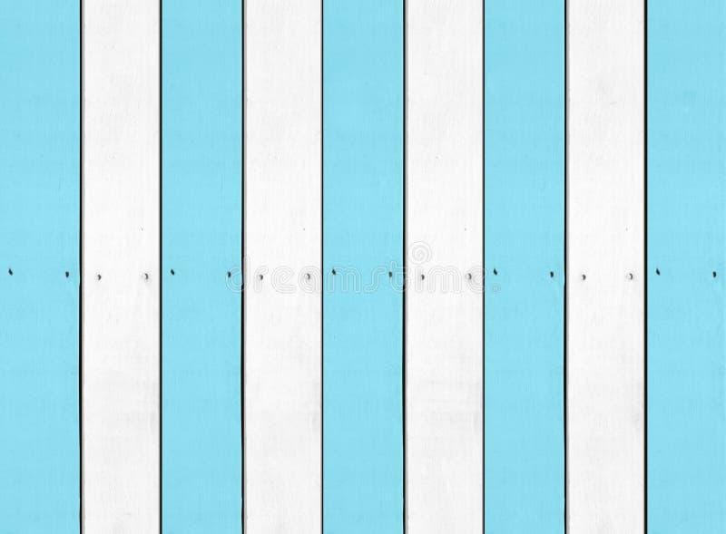 蓝色白色硬木背景纹理 向量例证