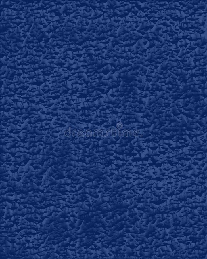 蓝色皮革 库存图片