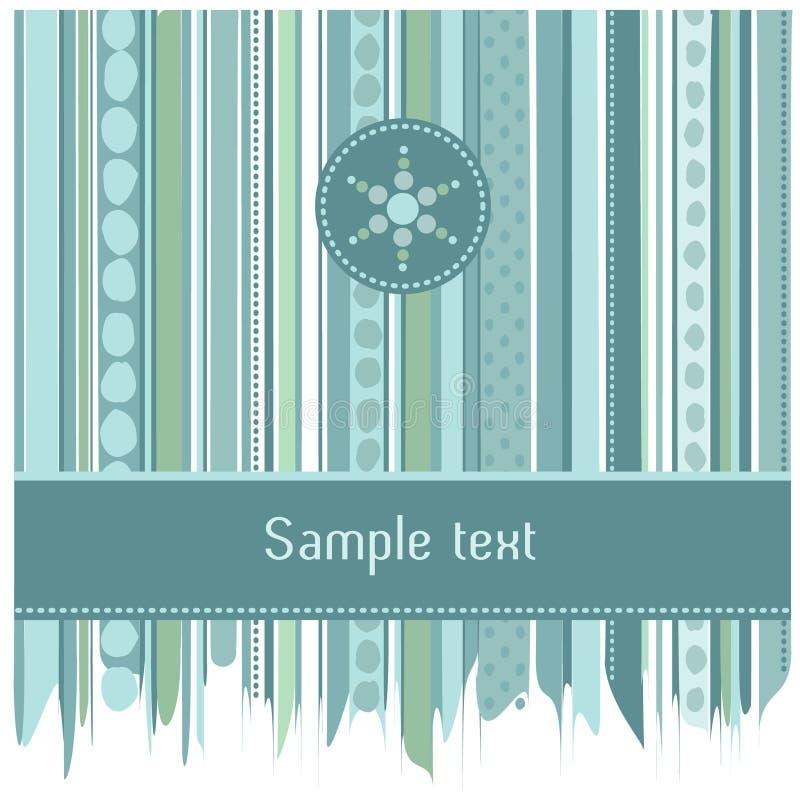 蓝色看板卡圈子设计数据条 免版税库存照片