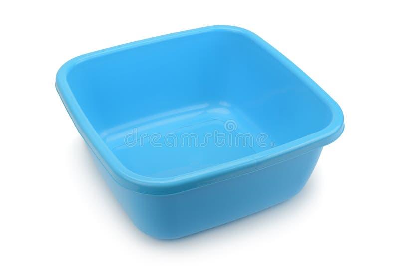 蓝色碗 免版税库存图片