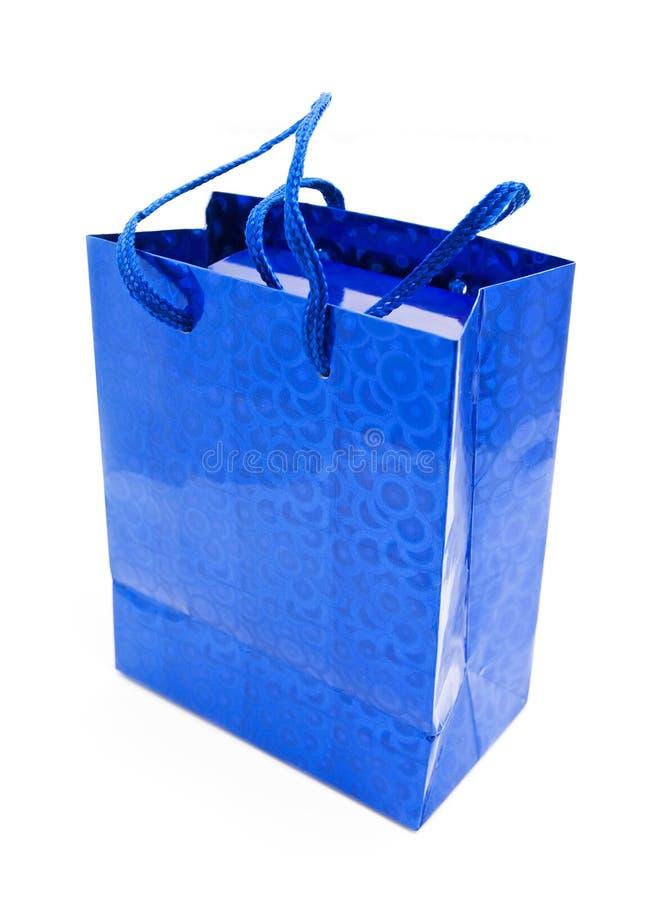 蓝色礼品 库存图片