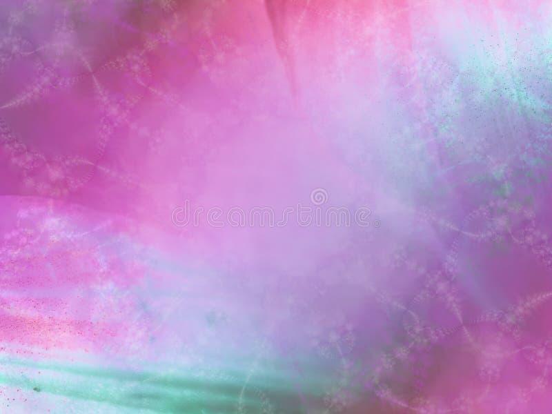 蓝色紫色虚拟纹理 库存例证
