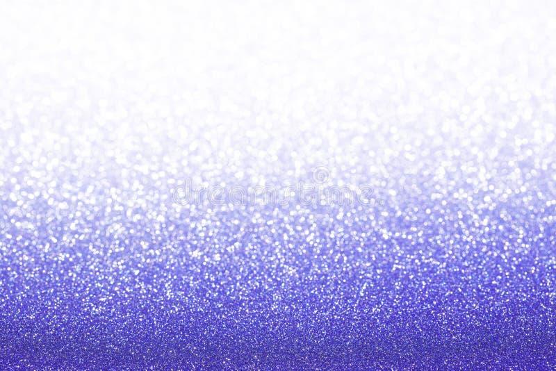 蓝色紫色闪烁背景 免版税库存照片