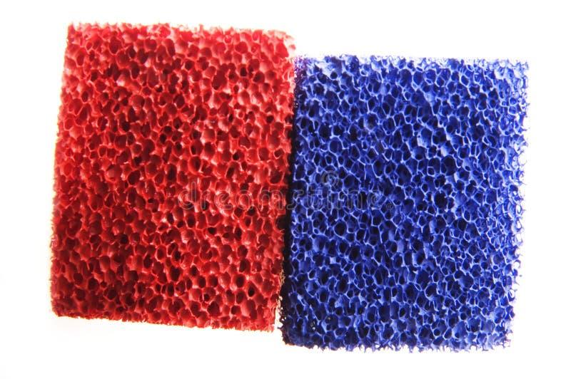 蓝色红色 免版税库存图片