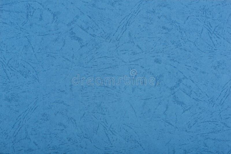 蓝色纹理墙纸 库存照片