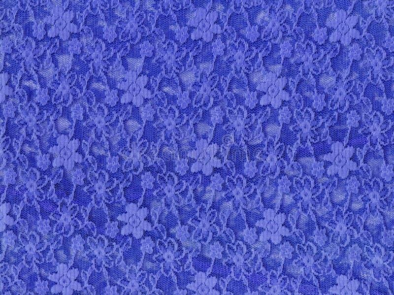 蓝色织品鞋带纺织品纹理 向量例证