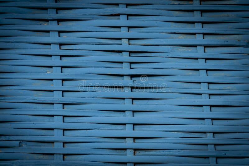 蓝色织法背景 图库摄影