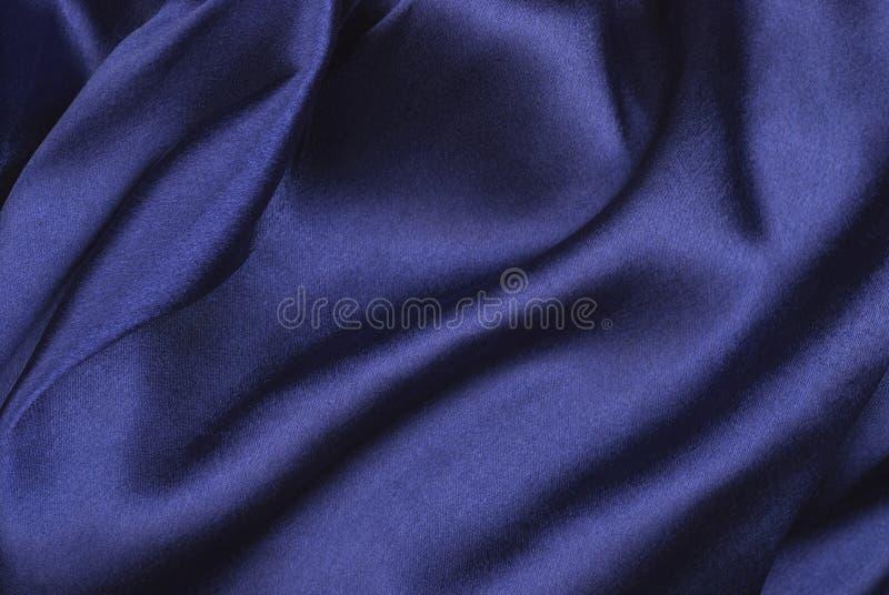 蓝色缎 库存图片