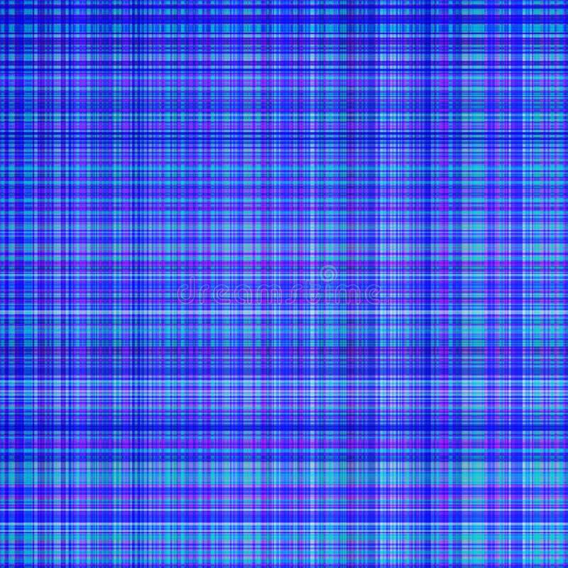 蓝色网格图形 向量例证
