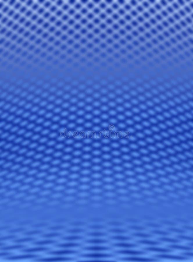 蓝色网格 向量例证