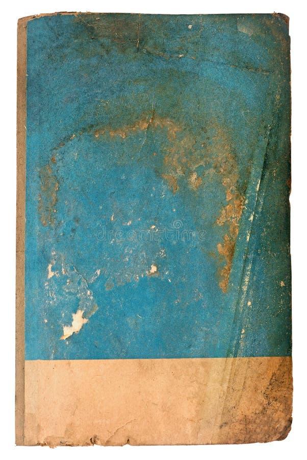 蓝色老纸 免版税库存照片