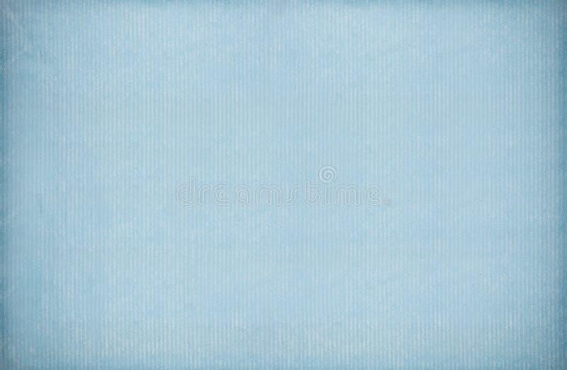 蓝色葡萄酒纸张 免版税库存照片