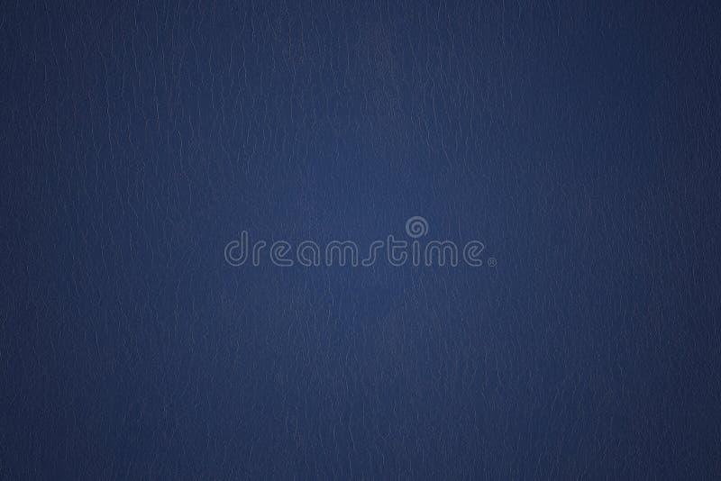蓝色葡萄酒背景纹理 设计的空白 免版税图库摄影