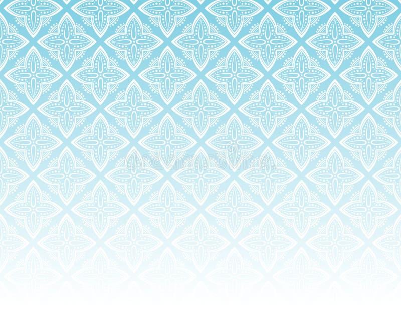 蓝色装饰模式 库存图片