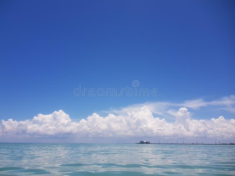 蓝色视图 库存照片
