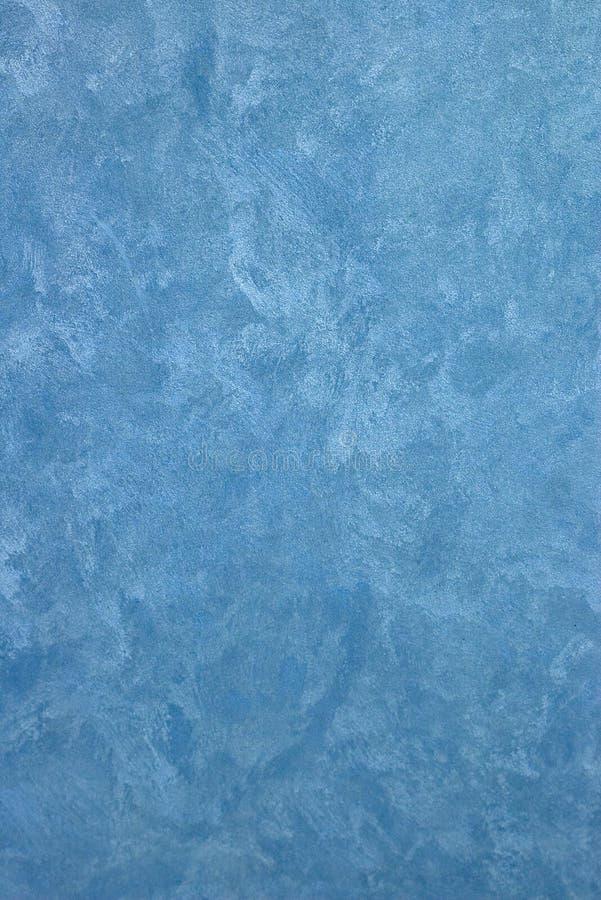 蓝色设计油漆纹理 库存照片
