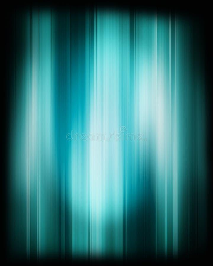 蓝色迷离 向量例证