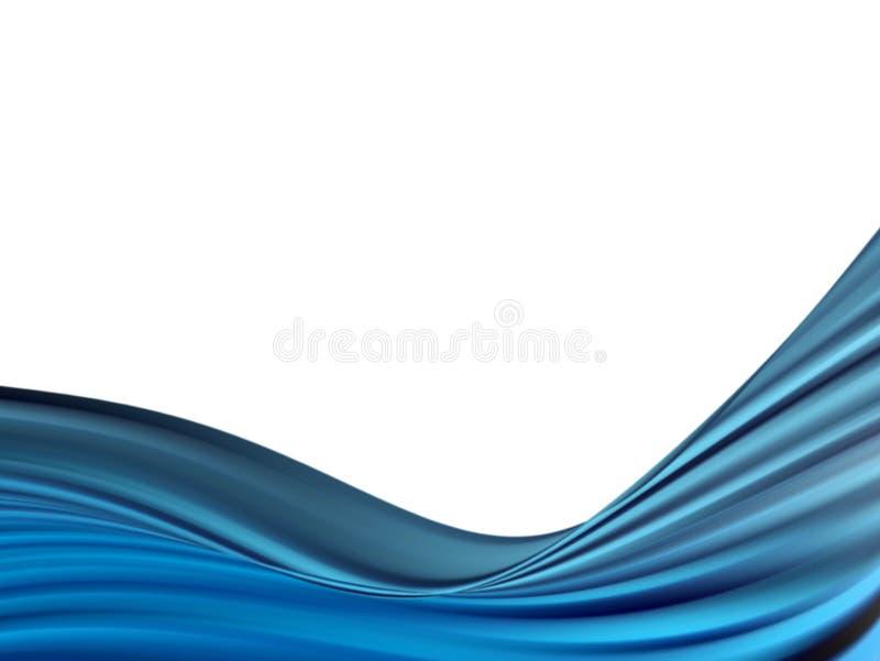 蓝色通知 免版税库存照片