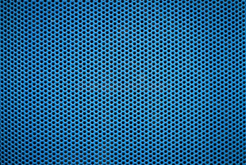 蓝色金属摘要背景例证 免版税图库摄影