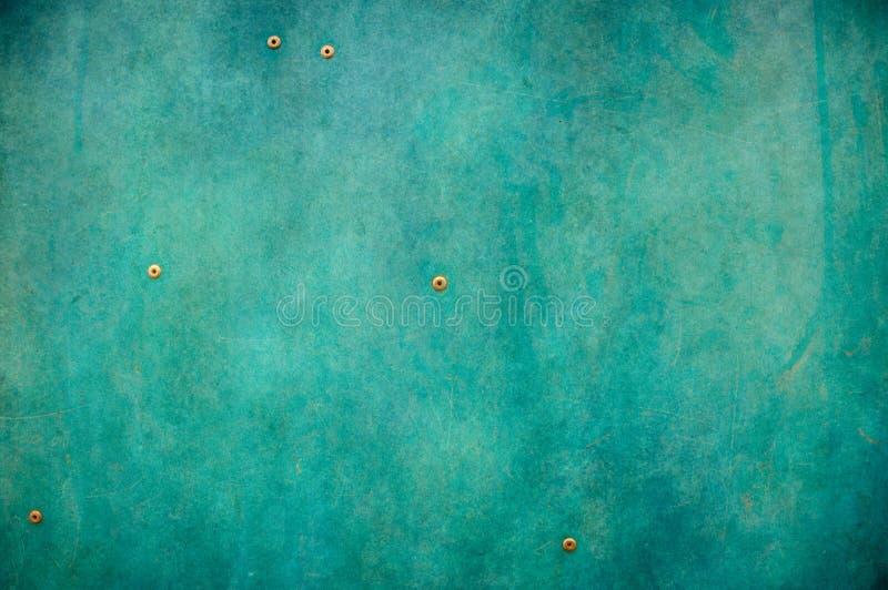 蓝色金属纹理 免版税图库摄影