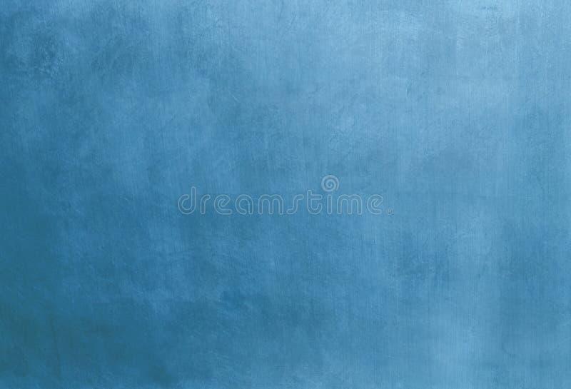 蓝色金属 免版税库存照片