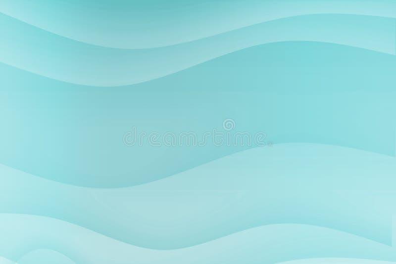 蓝色镇定的曲线安慰 皇族释放例证