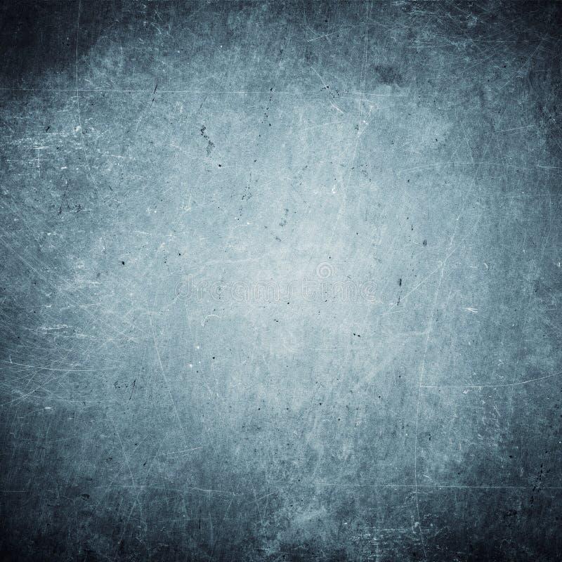 蓝色难看的东西背景,老纸纹理,尘土,抓痕,葡萄酒,减速火箭 库存图片