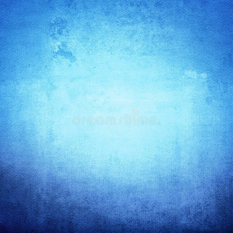 蓝色难看的东西背景 免版税库存照片