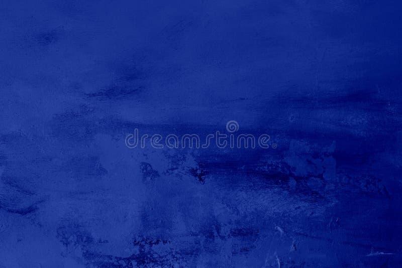 蓝色靛蓝脏的背景 库存照片