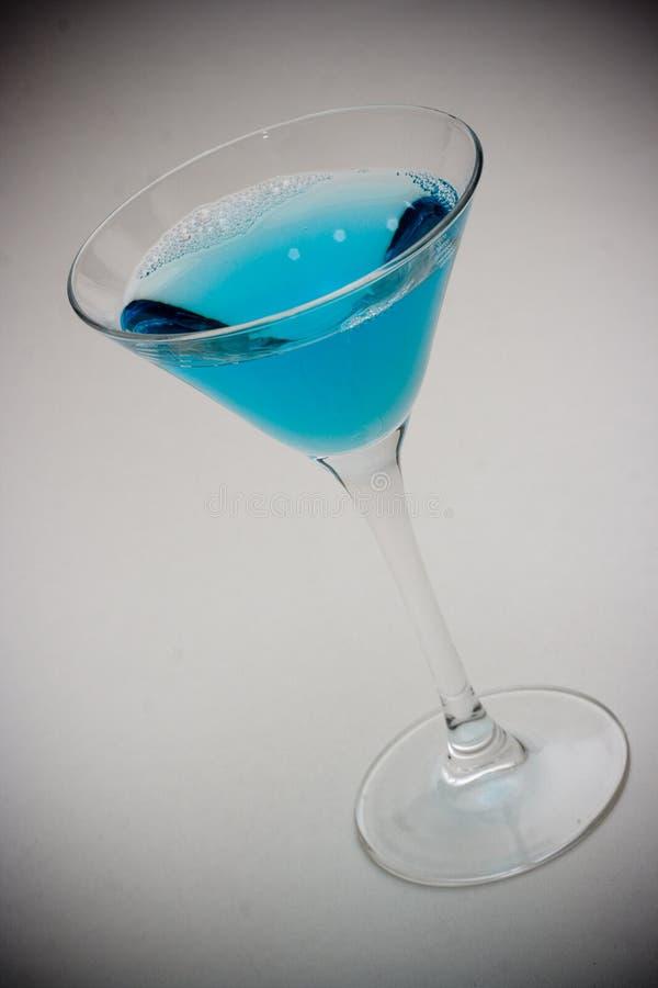 蓝色饮料 免版税库存图片