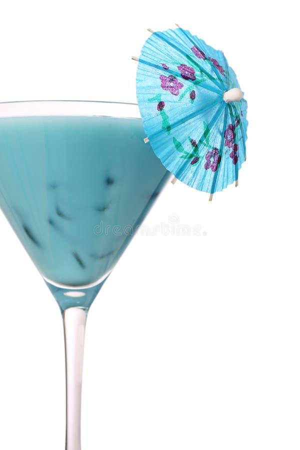 蓝色鸡尾酒夏威夷 免版税库存照片