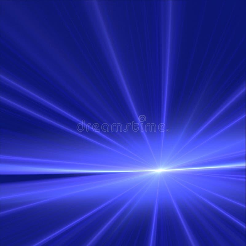 蓝色黎明 库存照片