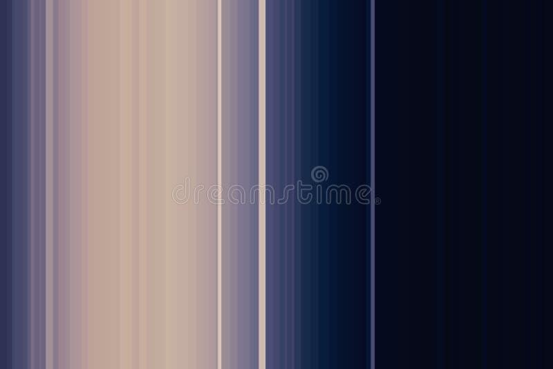 蓝色黑暗的五颜六色的无缝的条纹样式 抽象背景例证 时髦的现代趋向颜色 皇族释放例证
