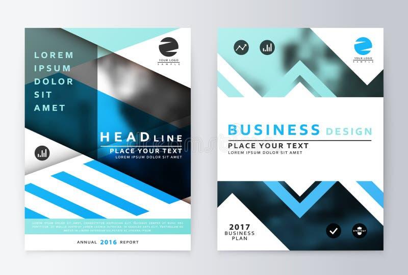 Download 蓝色年终报告小册子 向量例证. 插画 包括有 要素, 背包, 格式, 干净, 海报, 钞票, 空白的, 设计 - 72368387