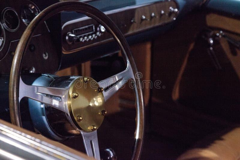 蓝色1953推托风暴Z-250 免版税库存照片