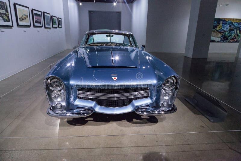 蓝色1953推托风暴Z-250 免版税图库摄影
