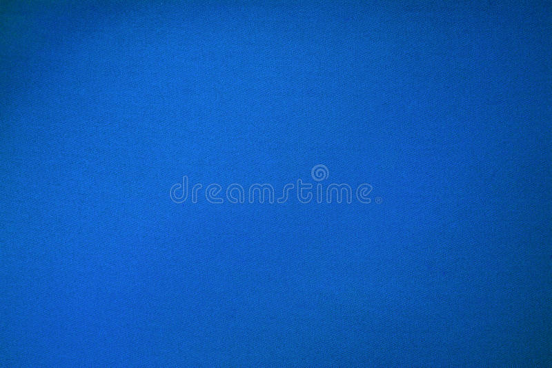 蓝色水池台球布料颜色纹理关闭 免版税库存图片