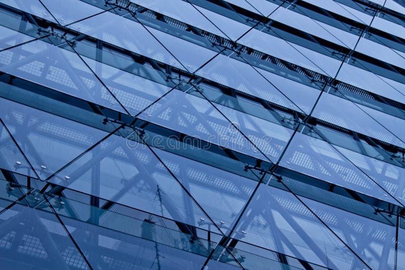 蓝色玻璃 免版税图库摄影