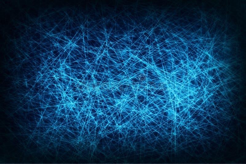 蓝色滤网摘要背景,网络连接 库存图片