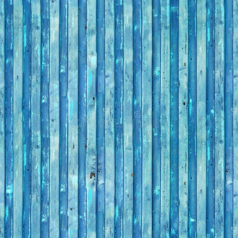 蓝色货船容器纹理 无缝的模式 背景重复 免版税库存图片