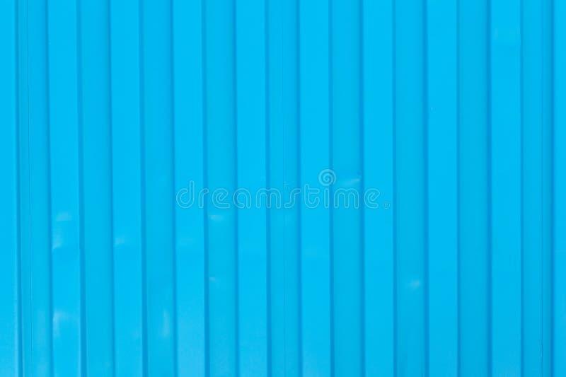 蓝色货船容器背景,纹理 免版税图库摄影