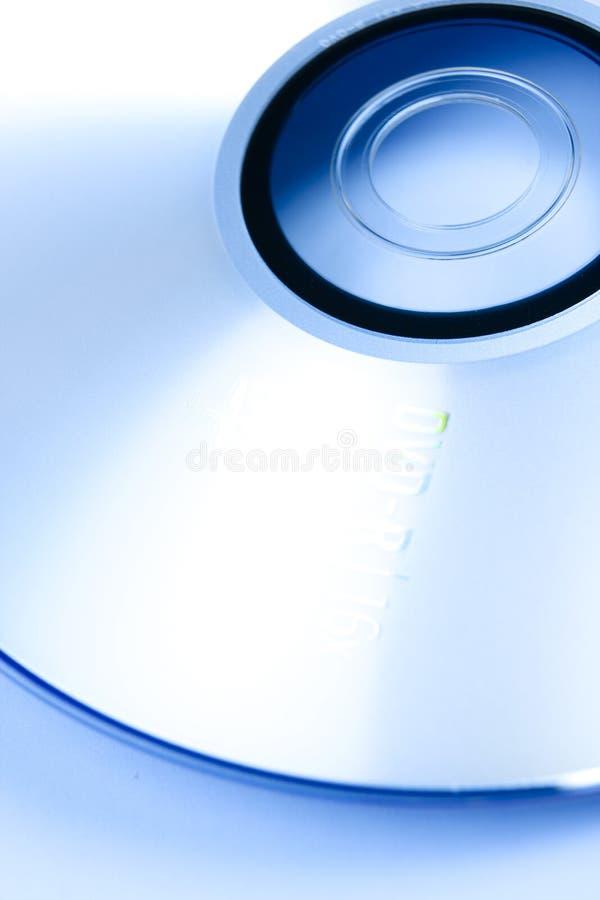蓝色cd 免版税库存照片