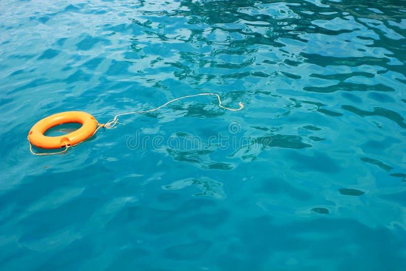 蓝色chang酸值海运 免版税库存图片