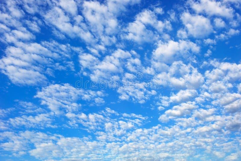 蓝色cloudscape天空壮观 库存照片