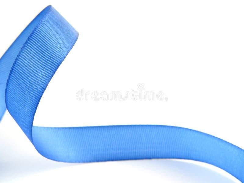 蓝色ii丝带 库存图片