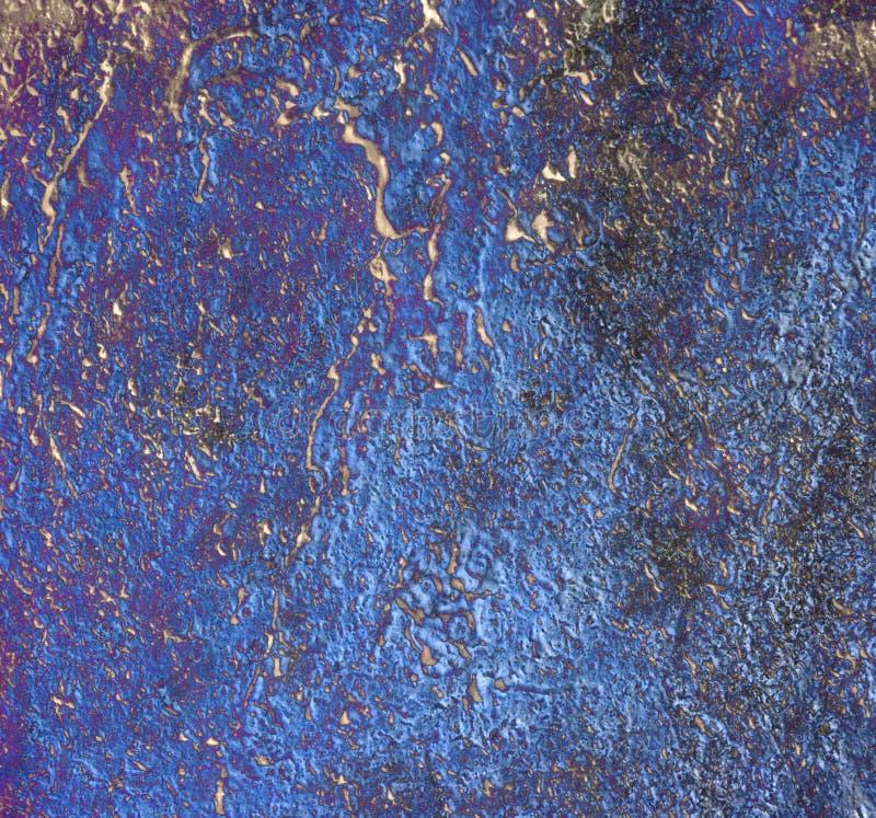 蓝色kobalt纹理 库存例证